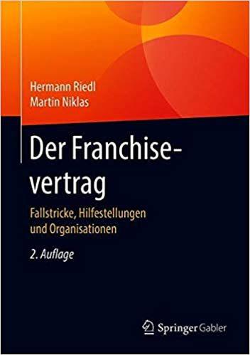 Buch: Der Franchise-Vertrag