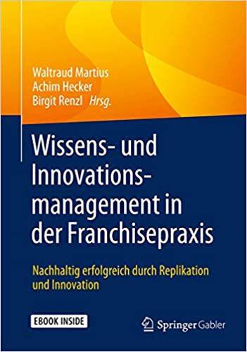 Buch: Wissens- und Innovations-Management in der Franchisepraxis