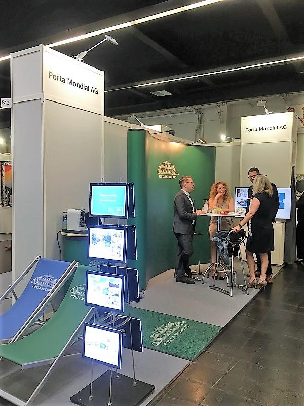 Porta Mondial auf der Deutschen Immobilienmesse 2018