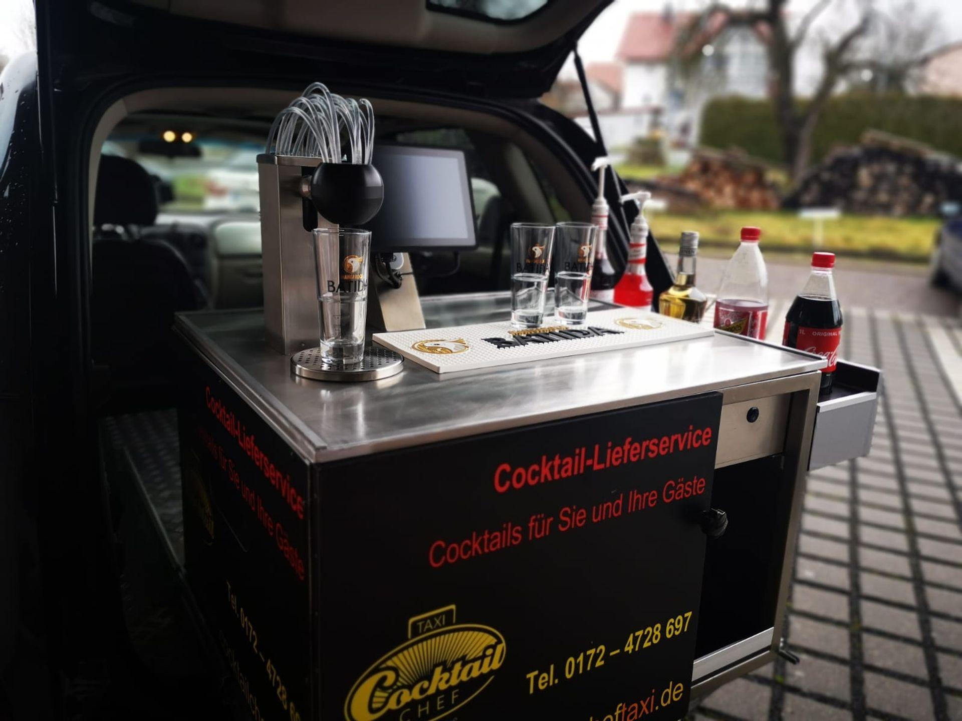Das erste Cocktailchef-Taxi haben wir am 23.12.2020 ausgeliefert!