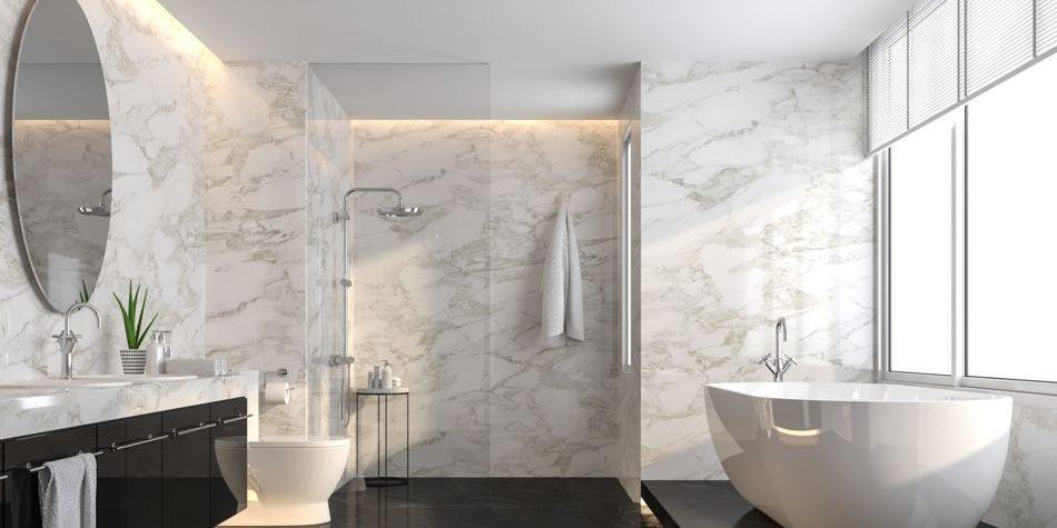 Naturstein im Bad: Richtig pflegen und clever sanieren