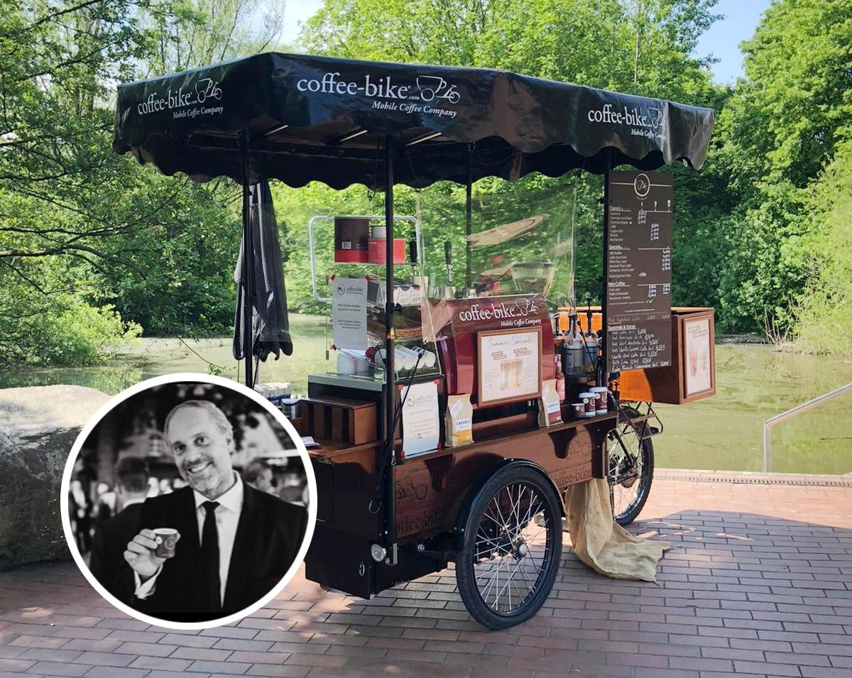 Kaffeegenuss in Zeiten von Corona – Coffee-Bike setzt Maßstäbe mit mobilem Kaffeecatering