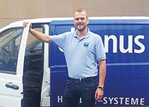 cleanus Hygienesysteme: Marco Steen, erfolgreicher Franchisepartner in Berlin