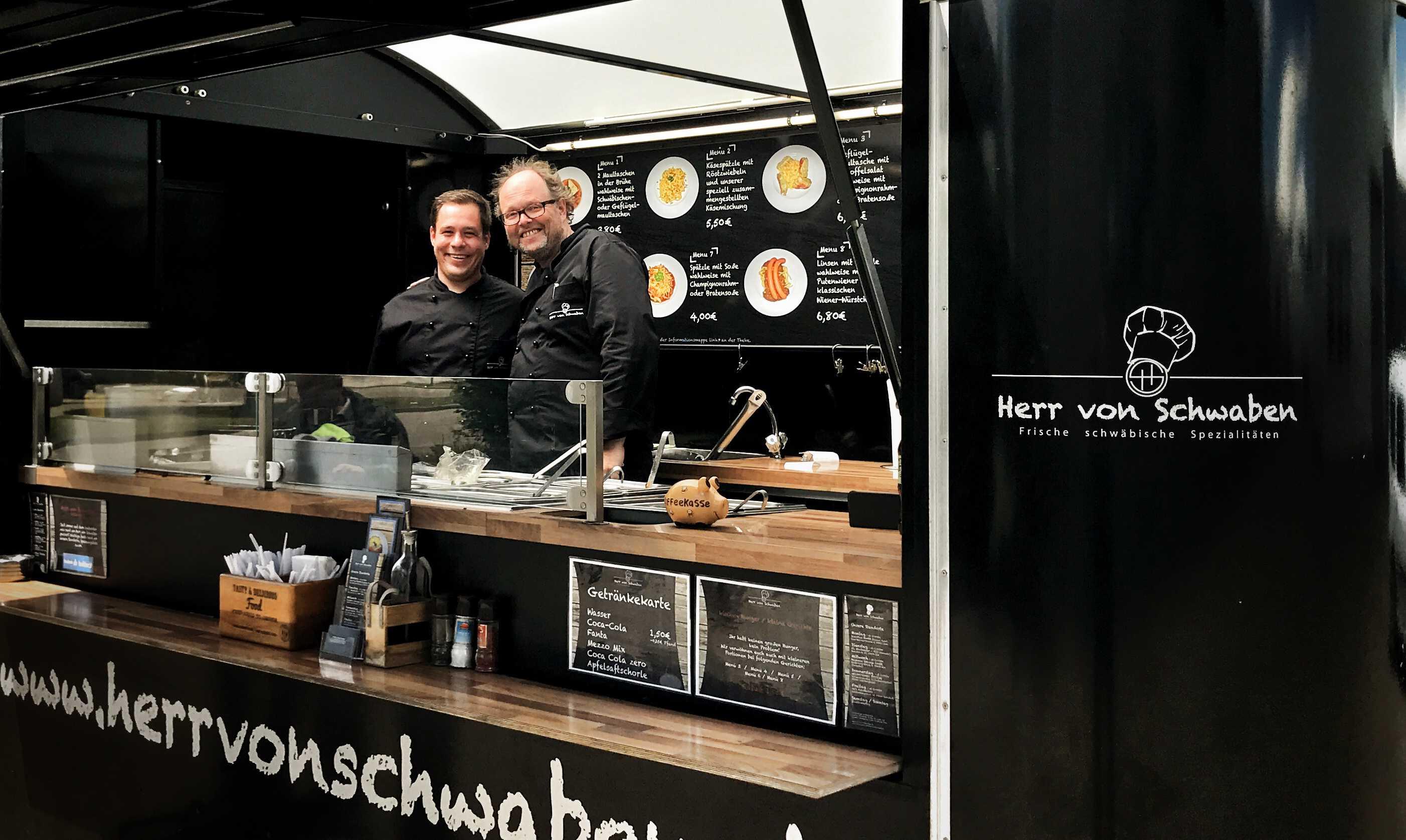 Food-Truck-Konzept Herr von Schwaben: Nun kommen die leckeren schwäbische Spezialitäten auch nach Bayern