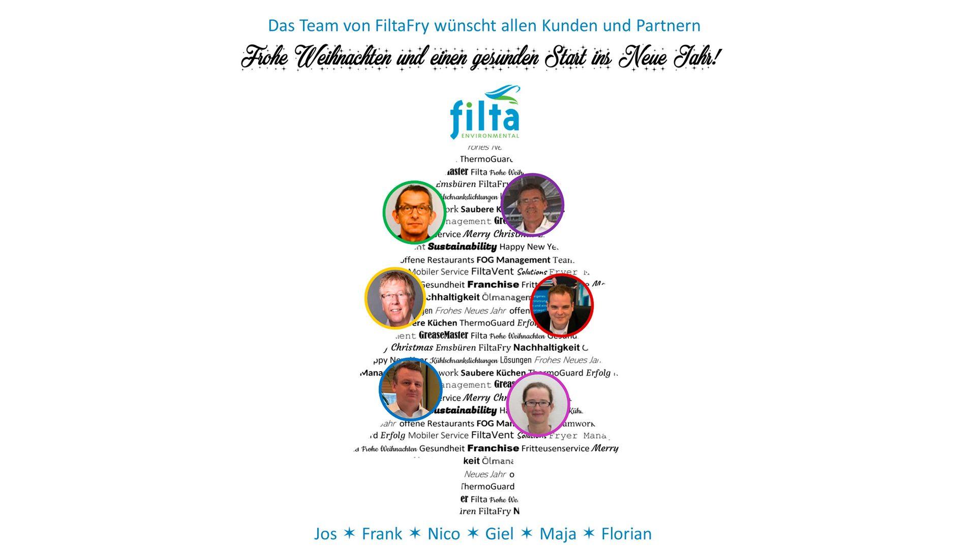 Das Team von FiltaFry wünscht allen Kunden und Partnern Frohe Weihnachten und einen gesunden Start ins Neue Jahr!