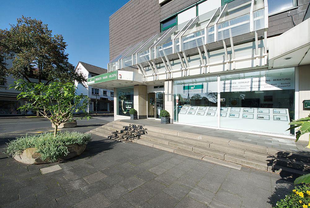 m² Immobilien eröffnet 2. Standort in Solingen/Haan