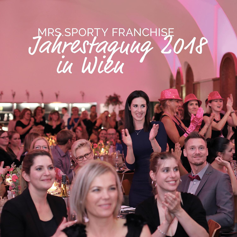 Mrs.Sporty in Wien: Ein Wochenende ganz im Zeichen von Franchise