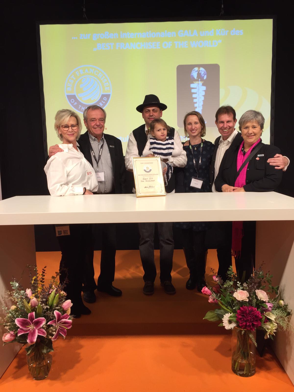 Tiroler Bauernstandl-Franchisepartner unter den TOP 5 der D-A-CH-Region