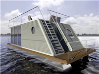 Auf dem Wasser leben: Mare-Wohnschiffe stellt sich im Franchiseportal vor