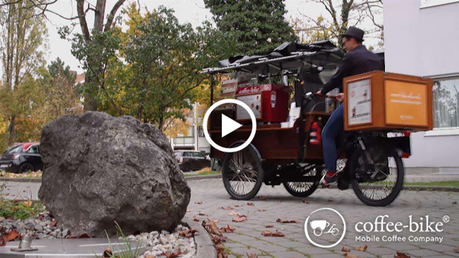 Coffee-Bike Starthilfe sichern: 6 Monate mietfrei mit mobilem Kaffeecatering