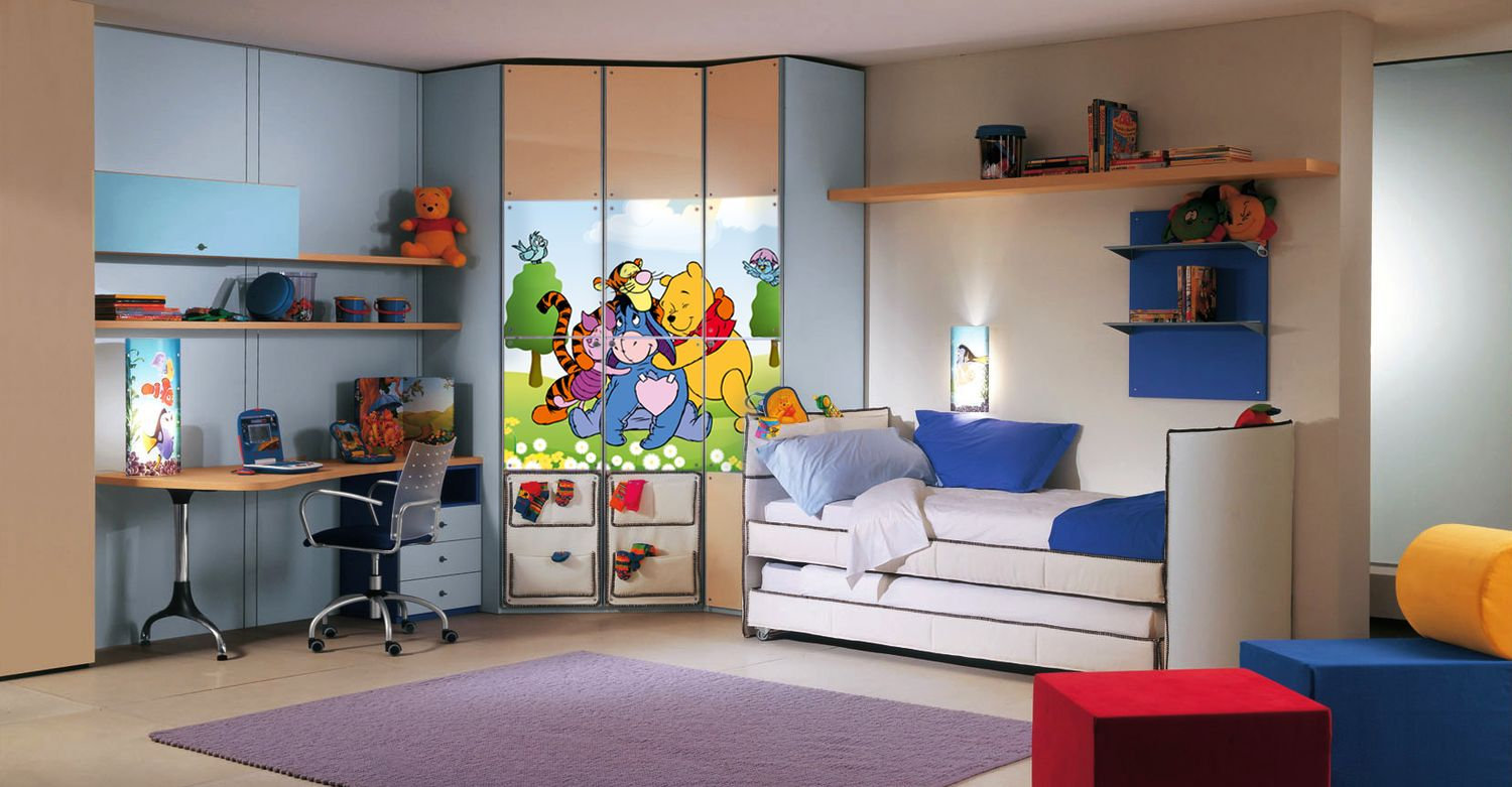 Children play and dream in personalized surrounds