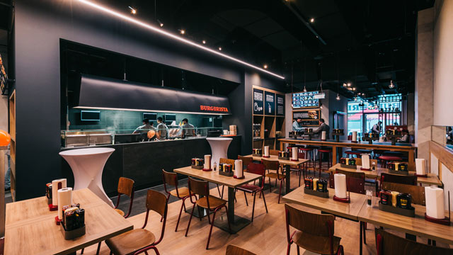 Burgerista: Erster Franchise-Standort ist auch Flagship-Store mit neuem Design