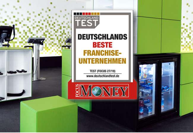 """fitbox ist Testsieger der FOCUS Studie """"Deutschlands beste Franchise-Unternehmen"""""""