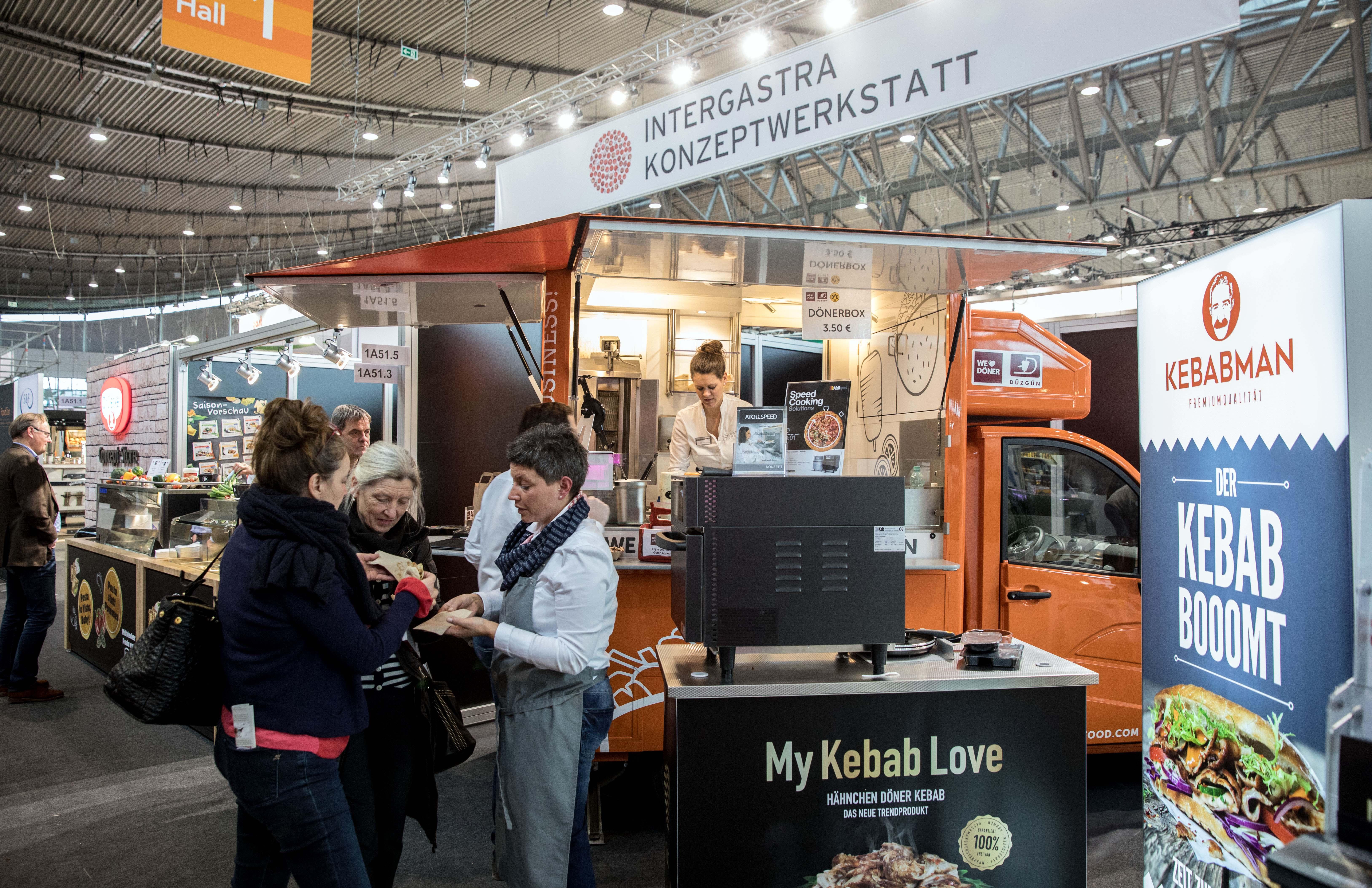 Für Gründer und Franchise-Geber aus der Gastronomie: Food & Concept Court bei der Intergastra in Stuttgart