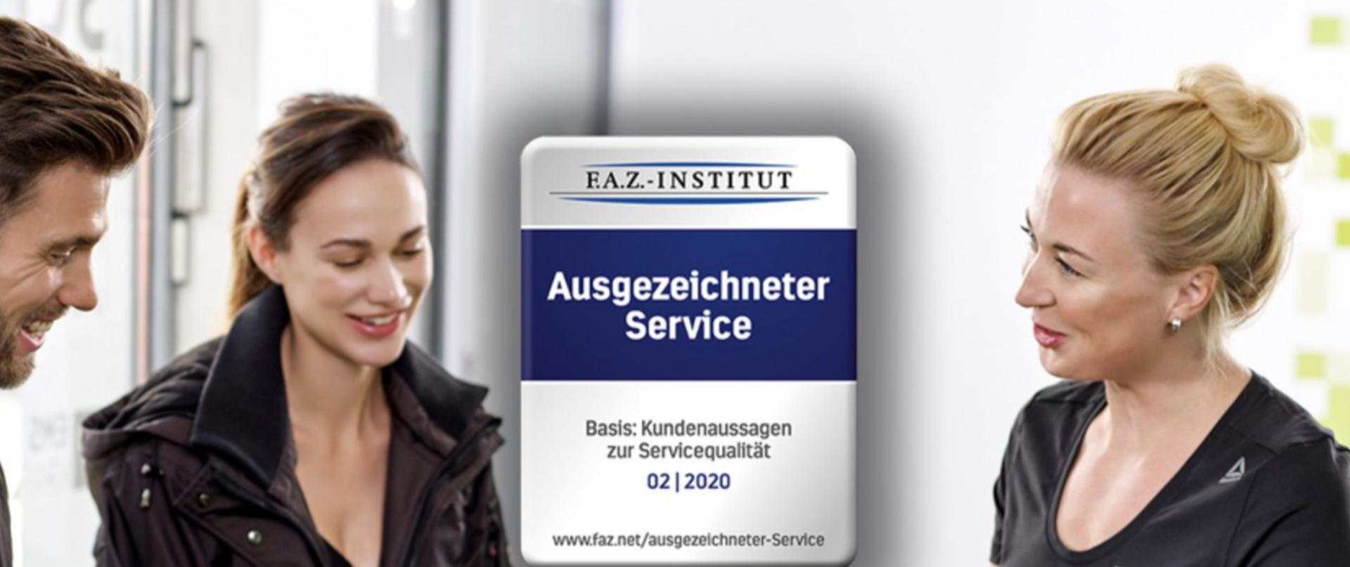 Frankfurter Allgemeine: fitbox ist Unternehmen mit ausgezeichnetem Service
