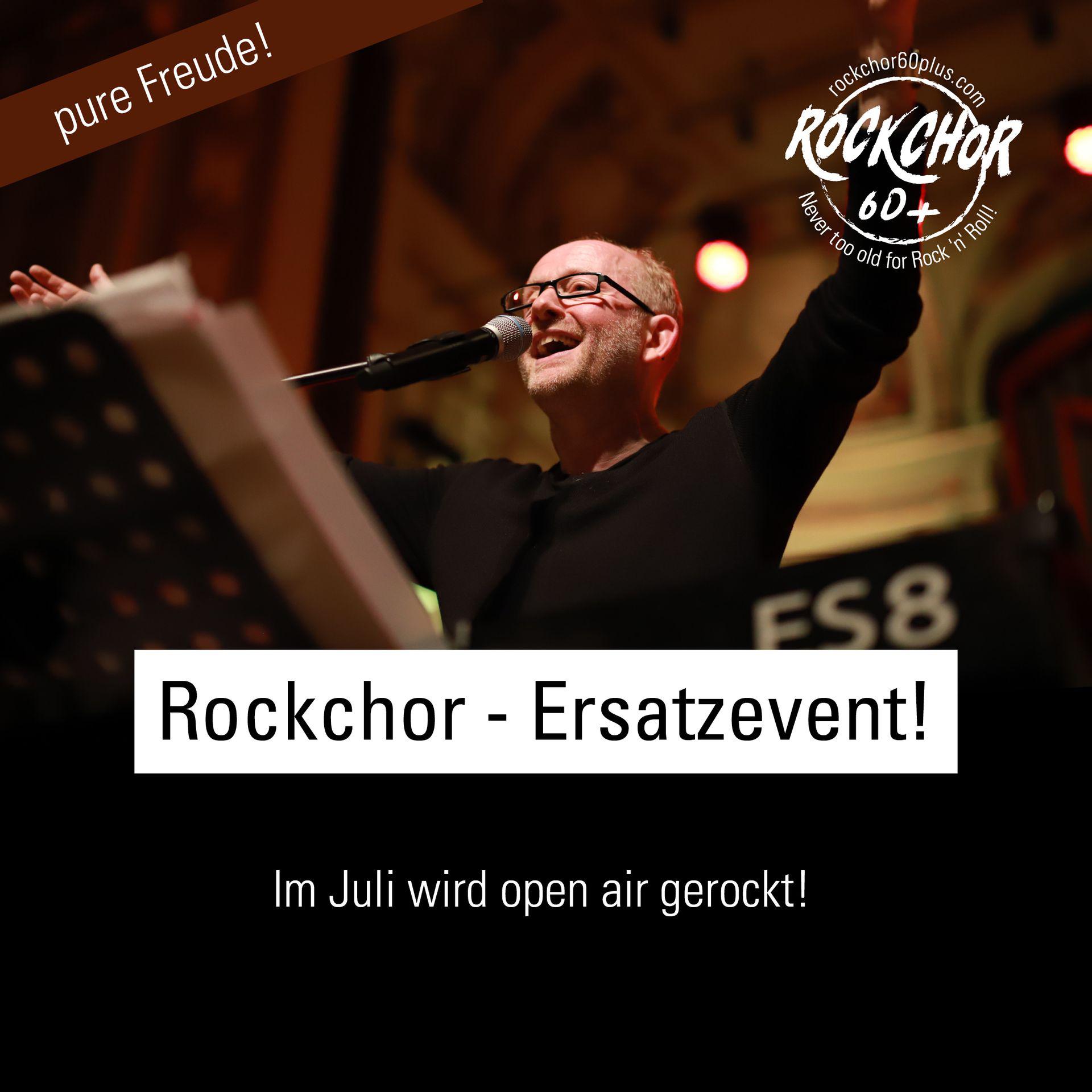 Rockchor Ersatzevent!