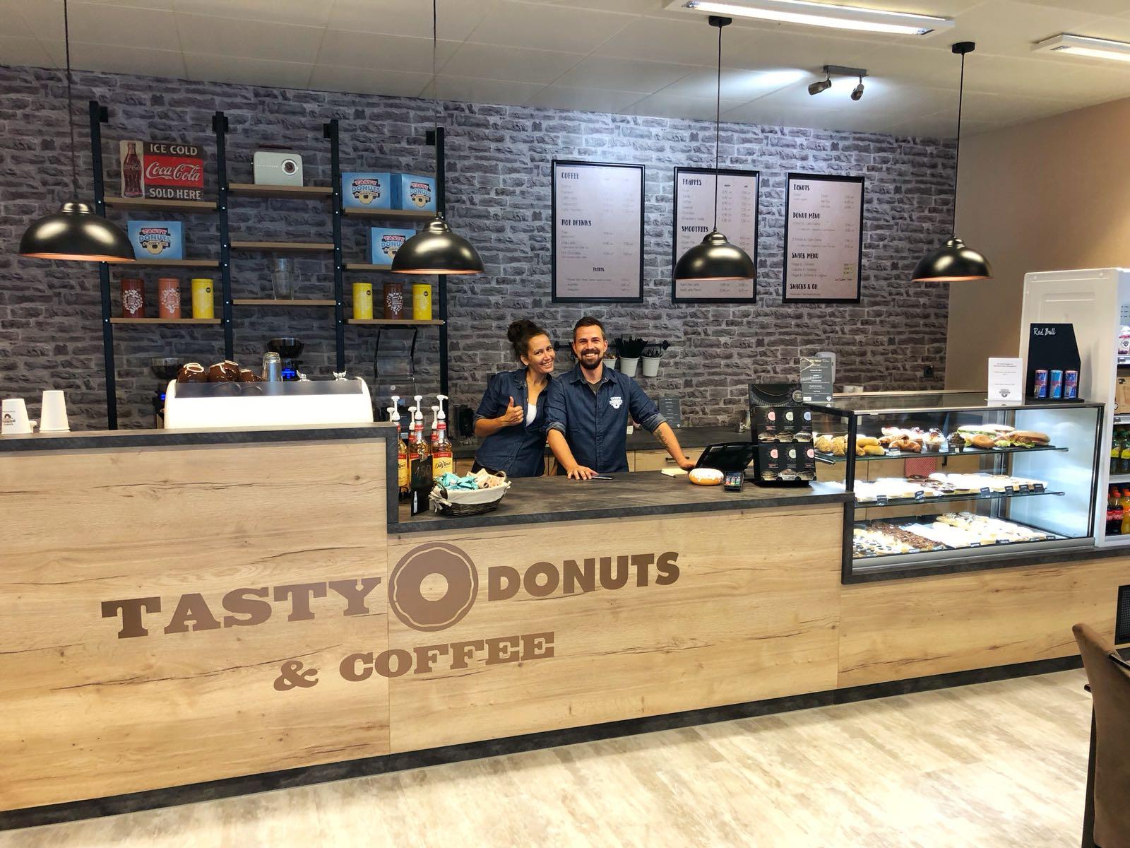 Tasty Donuts & Coffee eröffnet in Winterthur mit neuem Konzept