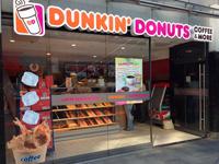 Gastronomie-Franchise-System Dunkin' Donuts: 50. Standort eröffnet
