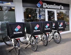 Delivery-Franchise-System Domino's Pizza: Bald über 370 Standorte durch Fortsetzung der Einkaufstour