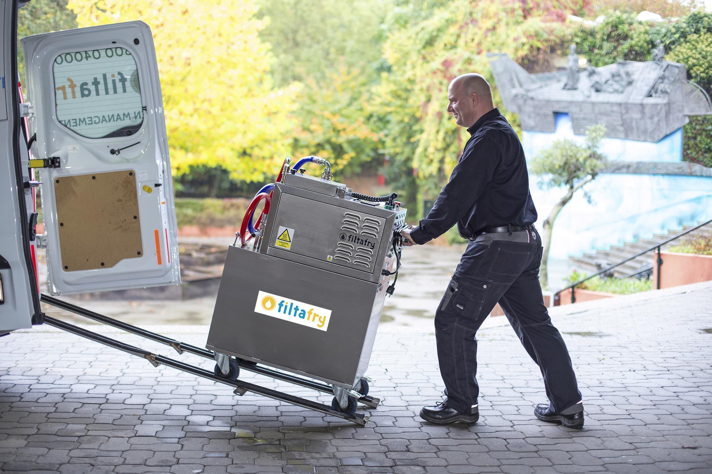 Fritteusen-Service Filtafry: Neue Franchise-Nehmer im deutschsprachigen Raum, Markteintritt in Estland