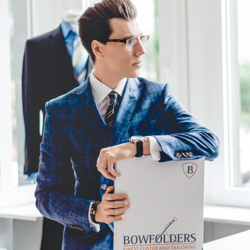 Der Style für die nächste Generation: Sascha Venus präsentiert junge Maßmode von Bowfolders