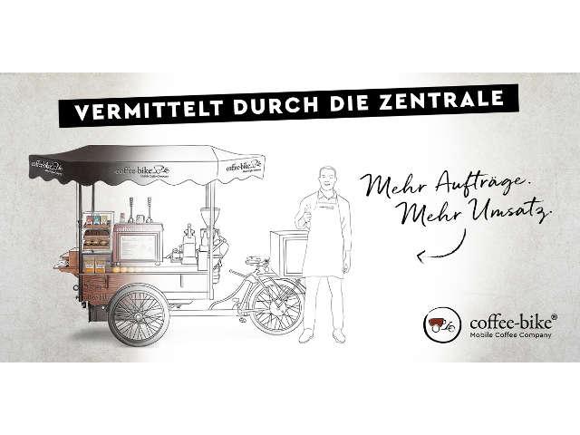Mit Coffee-Bike eröffnen Sie Ihr eigenes mobiles Café