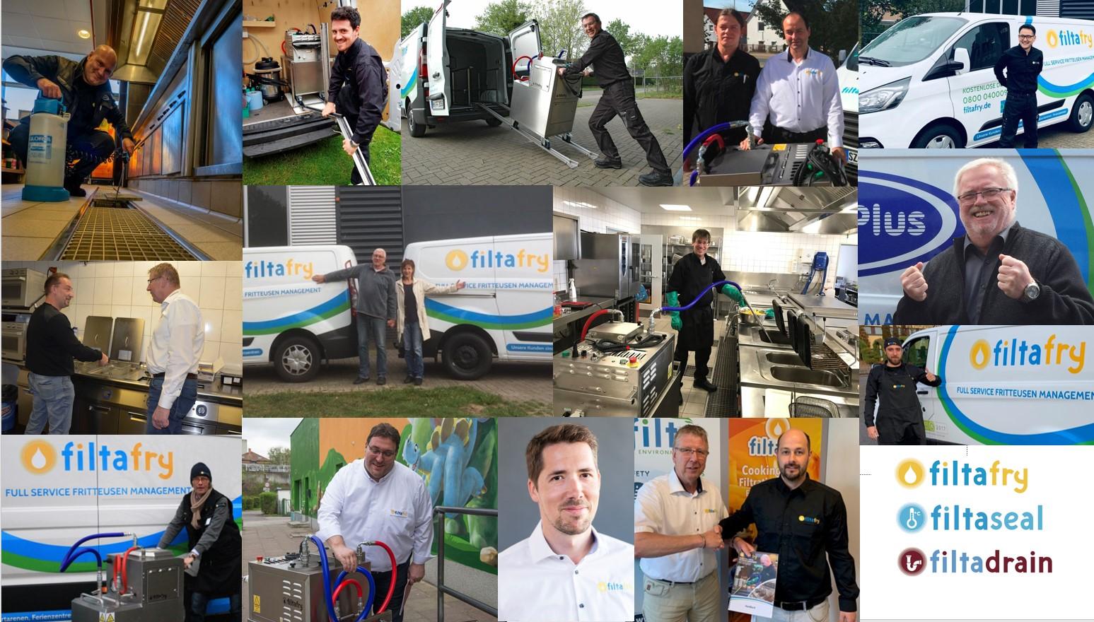 Fritteusenservice FiltaFry gibt es jetzt an acht weiteren Standorten und mit neuen mobilen Services für Gastronomie und