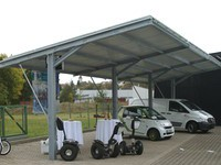 Das Franchise-Konzept von Visio 24 Solar-Carport