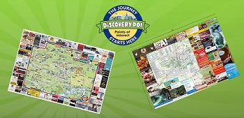 Aus den USA in europäische Städte: Das Franchise-System Discovery POI macht den Stadtplan zum Werbemittel