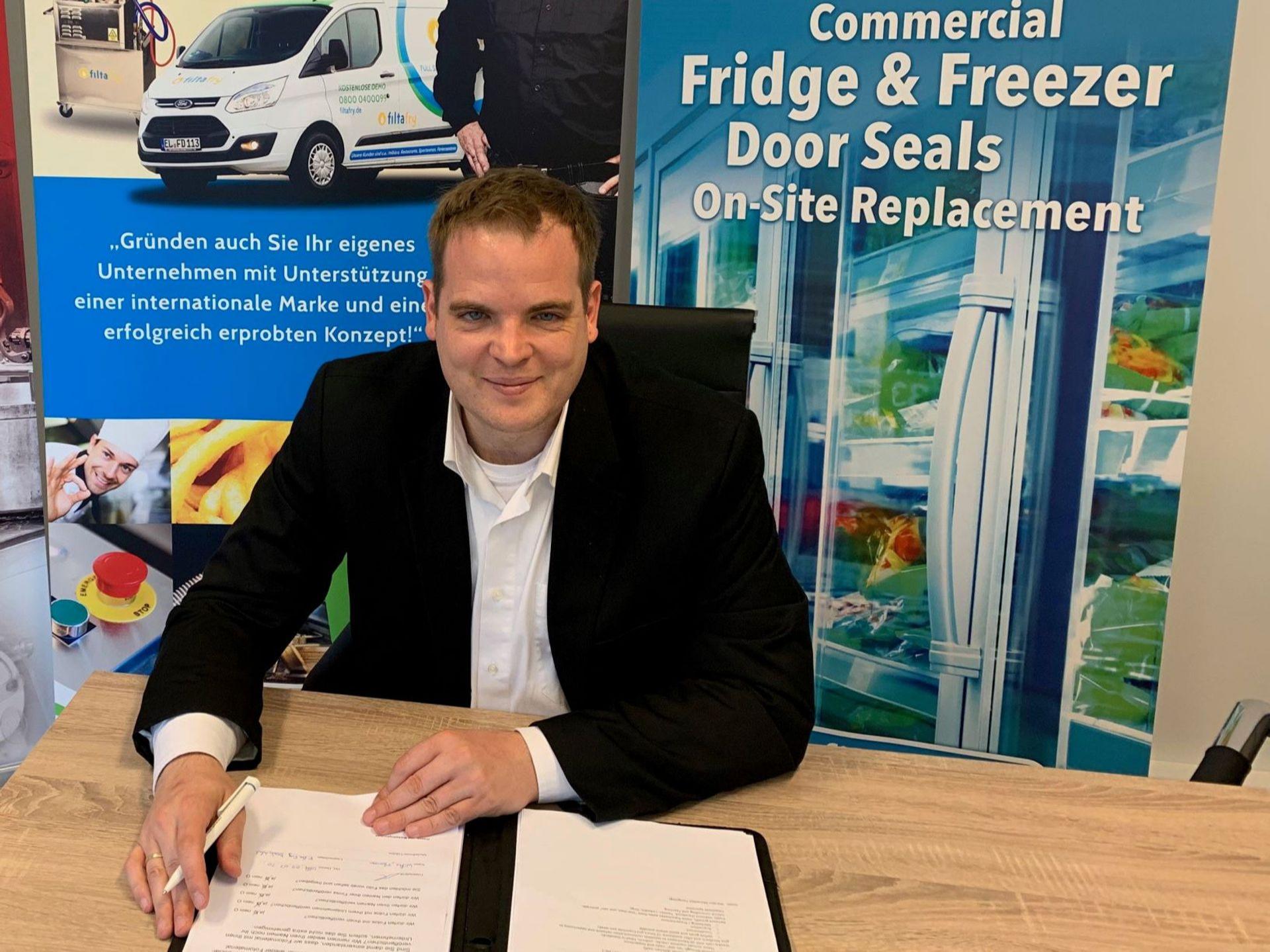 Florian Wilke verstärkt ab sofort das FiltaFry-Team in Vertrieb und Support