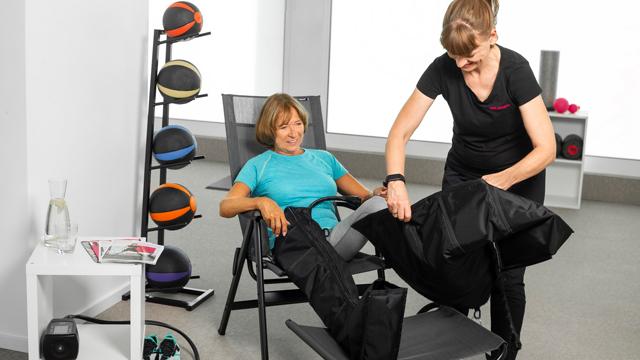 Franchise-Konzept Mrs.Sporty: Partner integrieren neues Lymphmassage-Angebot