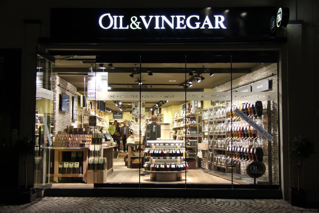 Oil & Vinegar startet in Mainz - Franchisenehmer/in mit Leidenschaft für guten Geschmack gesucht !
