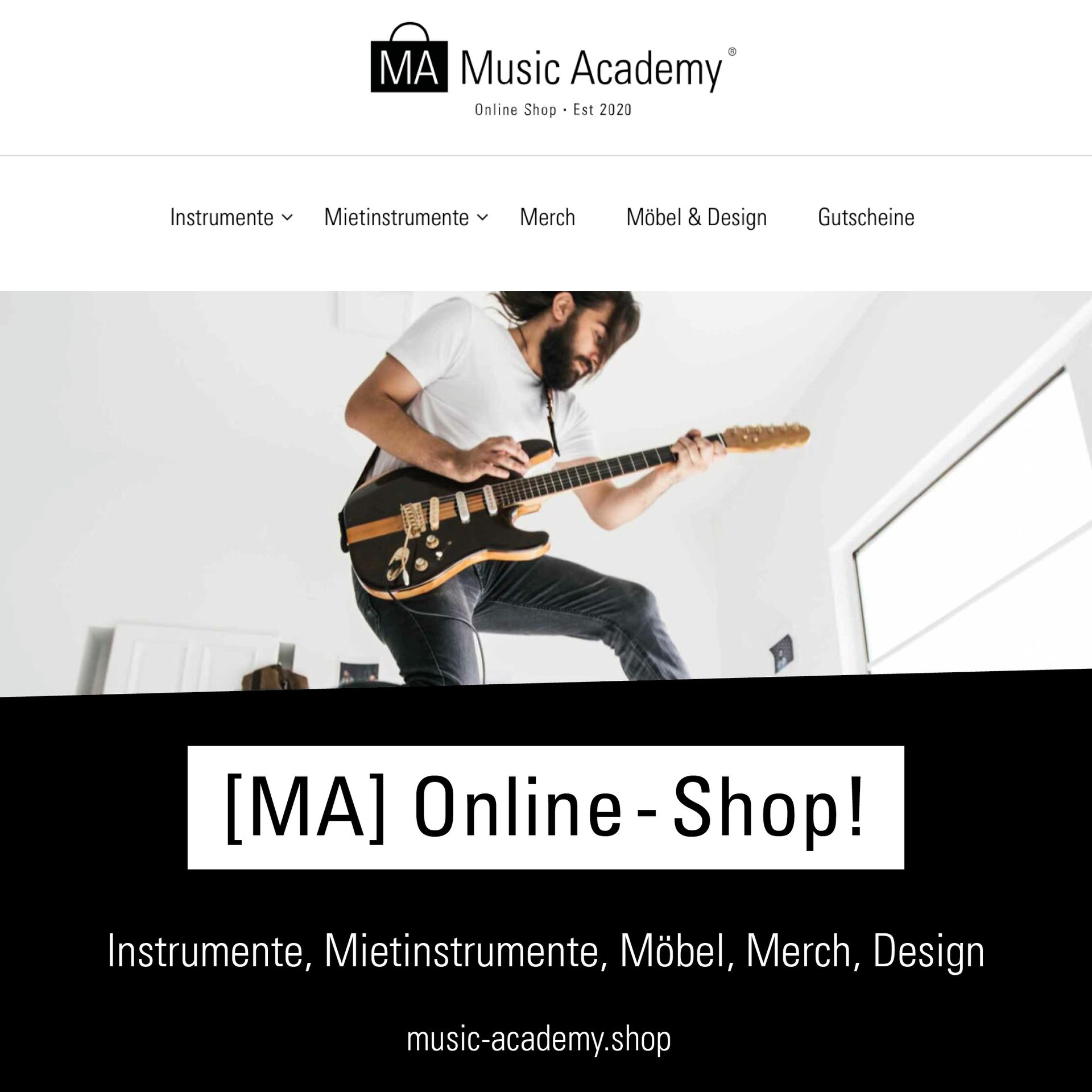 [MA] Music Academy Online Shop!