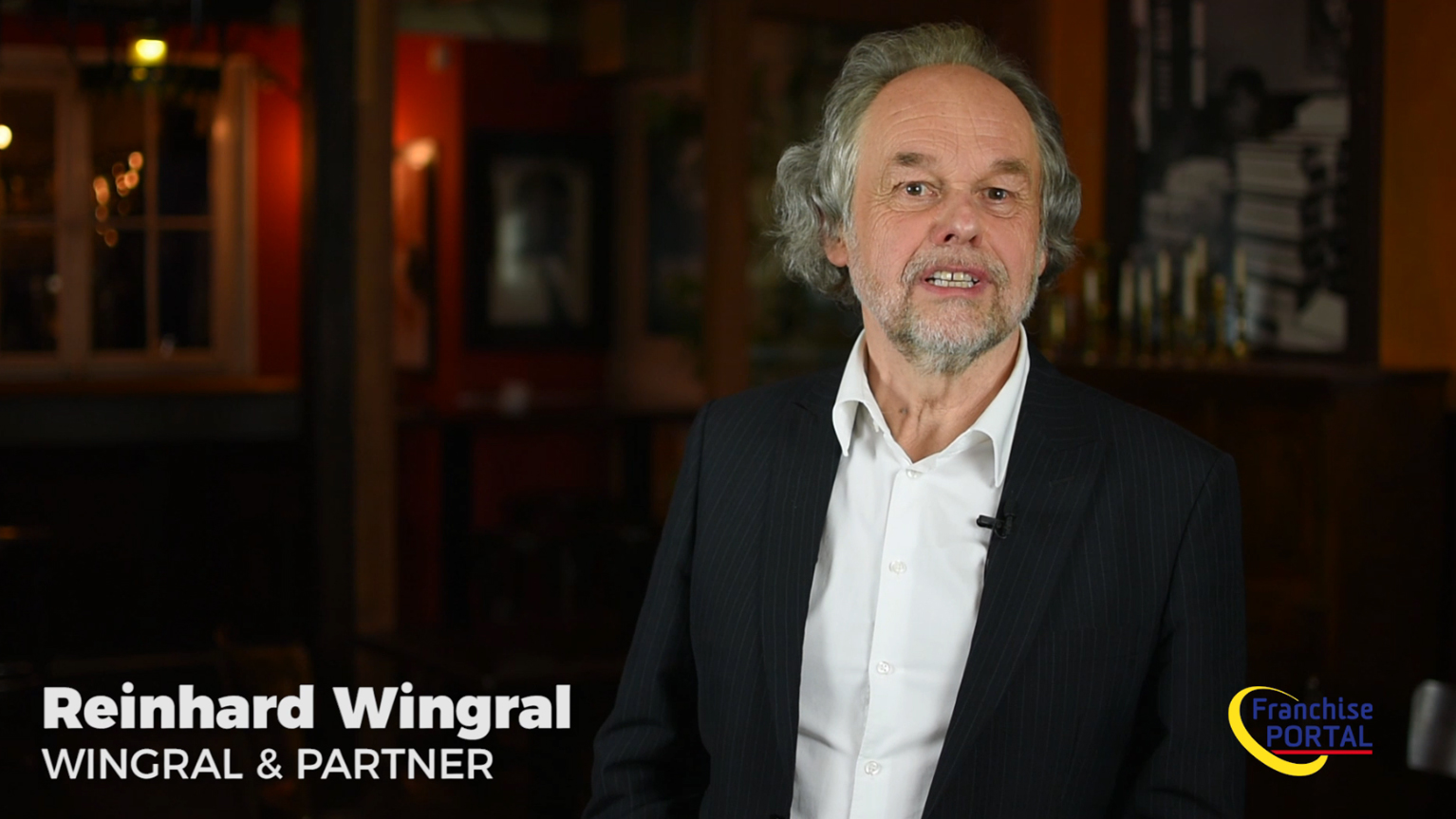 Der Franchise-Berater Reinhard Wingral stellt sich kurz vor