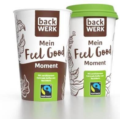 Neuer Mehrwegbecher und fair gehandelter Kaffee: Franchisesystem Backwerk stellt Angebot um
