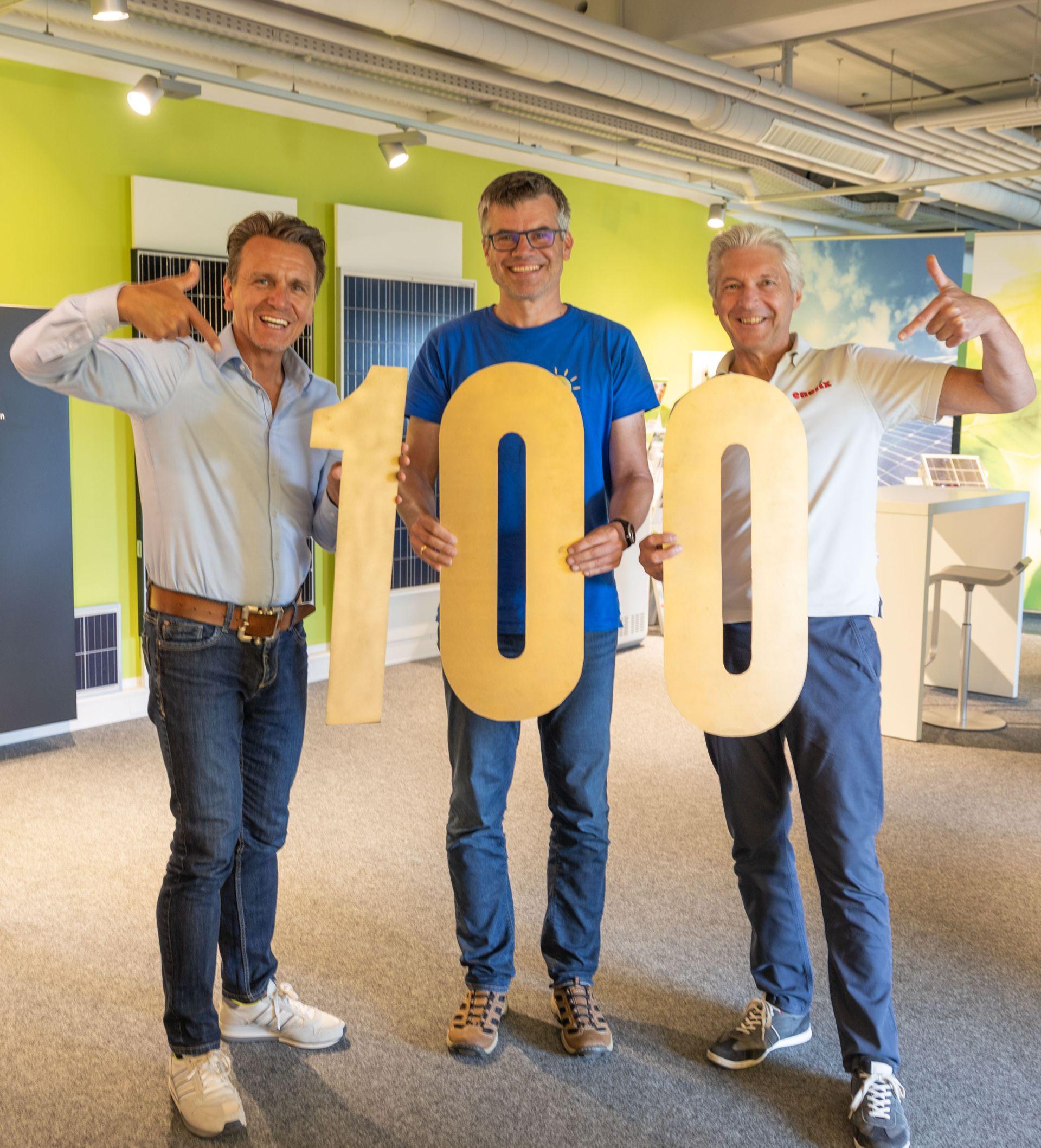 Verdoppelt innerhalb von drei Jahren: Energie- & Photovoltaikspezialist Enerix meldet 100. Franchise-Partnerschaft