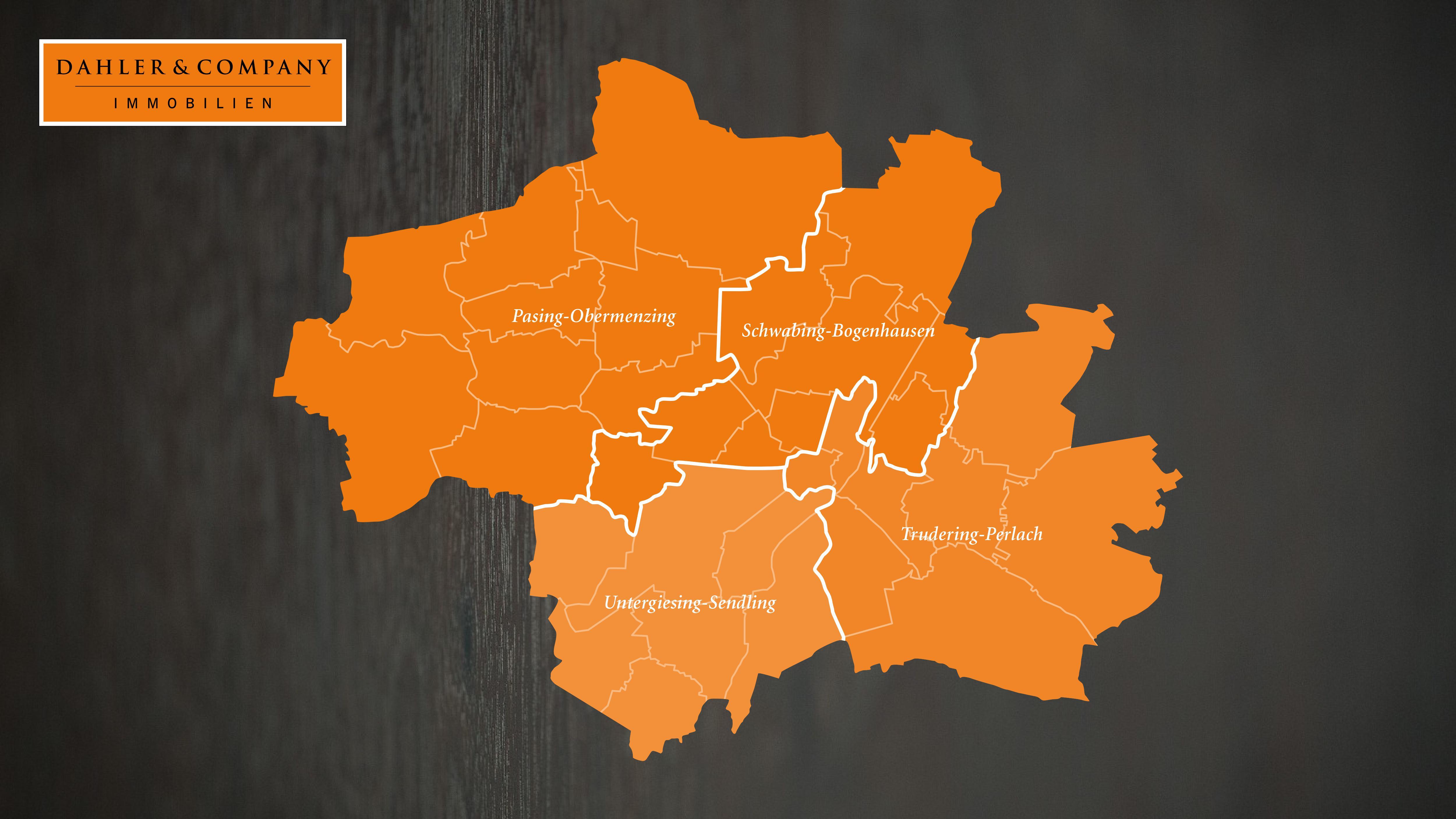 Expansion München: 4 neue Gebiete