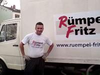 Rümpel Fritz präsentiert sich in der Virtuellen Franchise-Messe