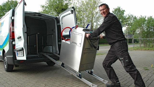 Fritteusen-Service Filtafry: Neue Franchise-Standorte, neue Services