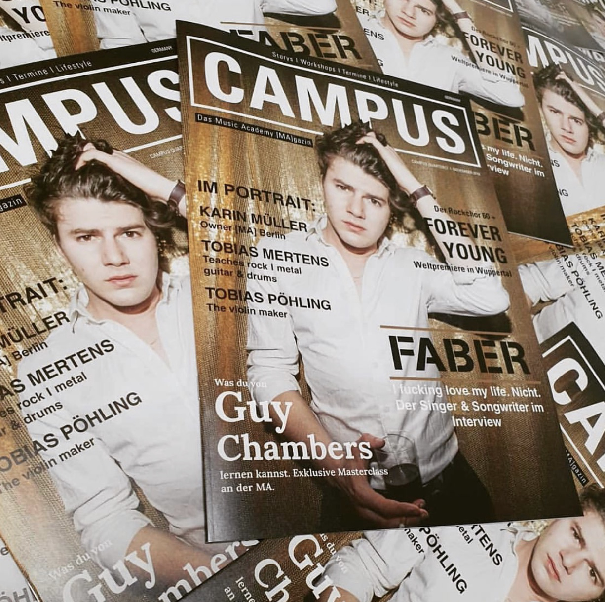 CAMPUS - das Music Academy [MA]gazine