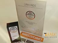 Deutscher-Servicepreis 2017 - FALC Immobilien erneut ausgezeichnet