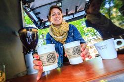 Leckerer Kaffee vom Fahrrad-Barista: Bike Café nimmt in Europa Fahrt auf