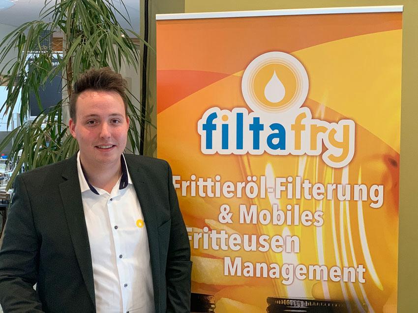Richard Grimm wechselt von Mise en Place zu FiltaFry