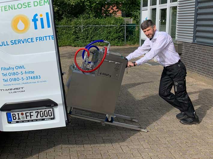 Franchise-System Filtafry: Neuer Partner gestartet