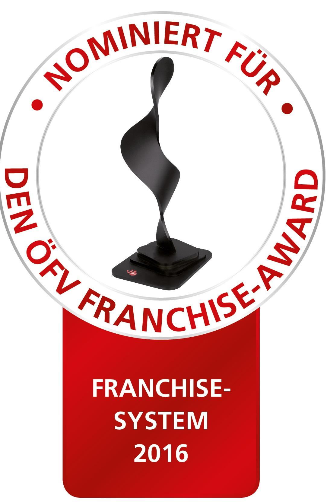 Lucky Car nominiert für den Franchise-Award!