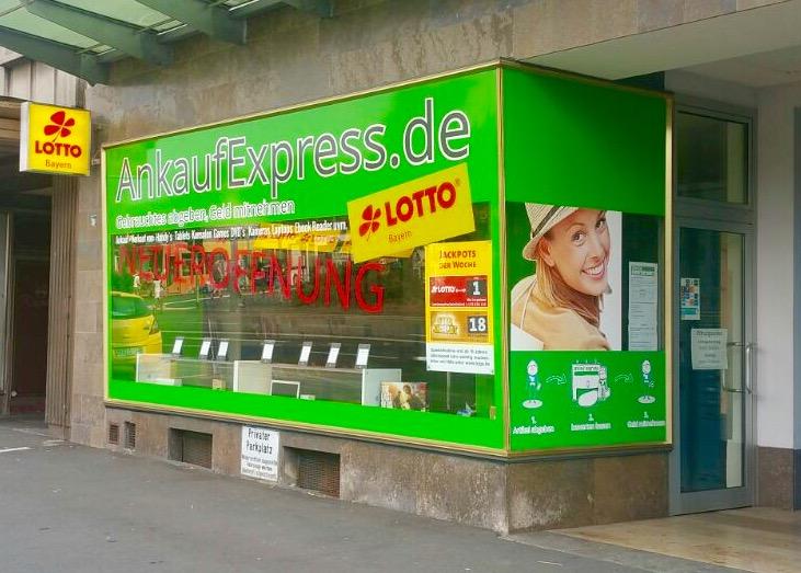 Eröffnung unseres Mustershops in Würzburg