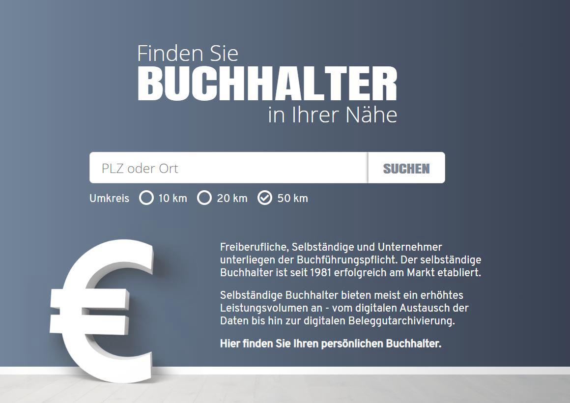 Eine neue Seite ist online: finde-buchhalter.de