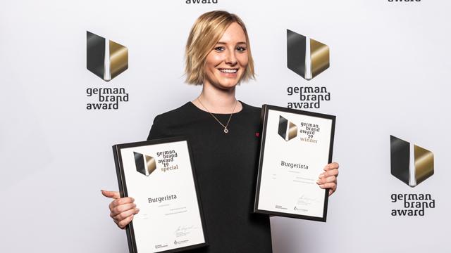Gastronomie-Franchise-System Burgerista erhält German Brand Awards