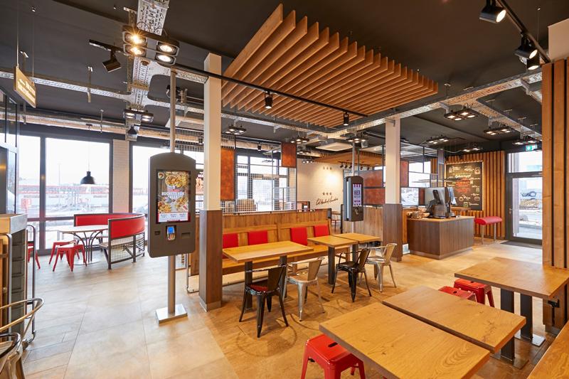 Gastronomie-Franchise-System KFC eröffnet neuen Standort