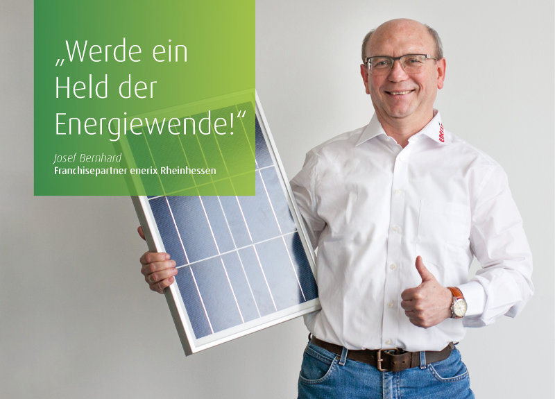 Starte mit enerix in eine sonnige Zukunft!